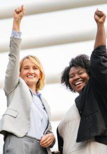 two successful women